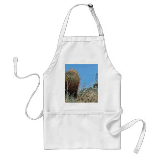 Barrel Cactus A Cactus In Anza Borrego Desert Cact Adult Apron