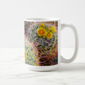Barrel cactus close up, California Coffee Mug