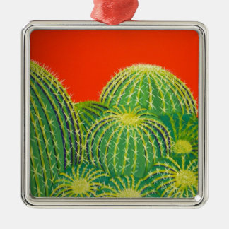 Barrel Cactus Christmas Tree Ornament