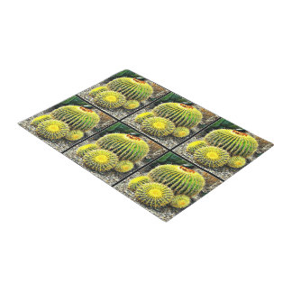 Barrel Cactus Door Mat