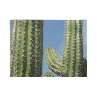 Barrel Cactus I Desert Nature Photo Doormat