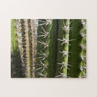 Barrel Cactus II Desert Nature Photo Jigsaw Puzzle
