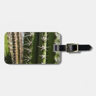 Barrel Cactus II Desert Nature Photo Luggage Tag