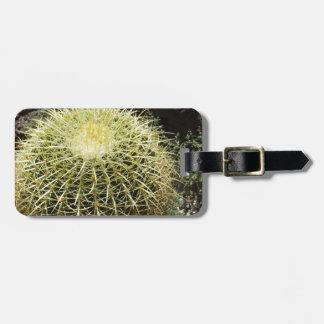 Barrel Cactus Travel Bag Tag