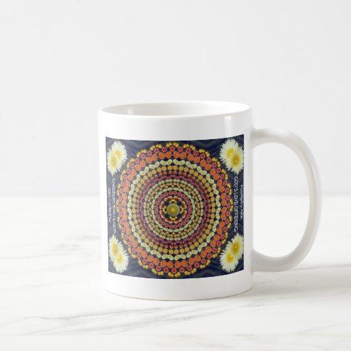 Barrel Cactus Mandala 3 on  Mug