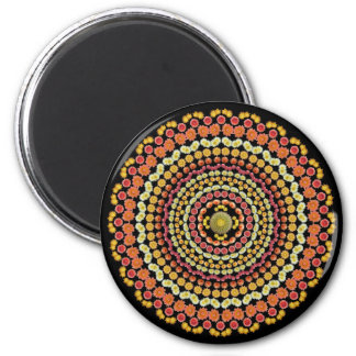 Barrel Cactus Mandala Magnet 2