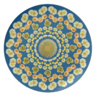 Barrel Cactus Mandala Plate