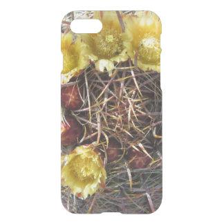 Barrel Cactus Plant Fishhook Yellow iPhone 7 Case