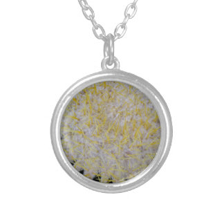 Barrel Cactus Top Silver Plated Necklace