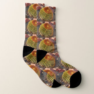 Barrel Cactus Unisex Socks 1