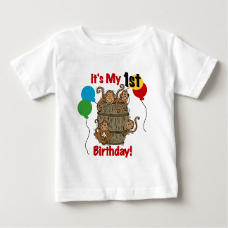 Barrel of Monkeys 1st Birthday Tshirts and Gifts
