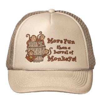 Barrel of Monkeys hat