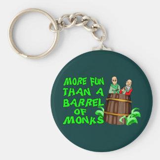 Barrel Of Monks Key Ring