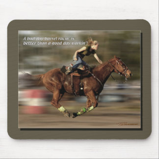 Barrel Racing - BR V Work Mouse Pad