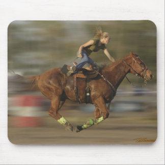 Barrel Racing - Gettin' Air Mouse Pad