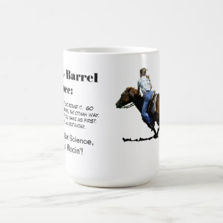 Barrel Racing - Girls - How to Barrel Race. Coffee Mug