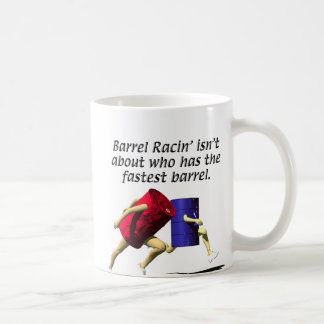 Barrel Racing - Racing Barrels Coffee Mug