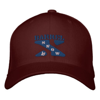 Barrel X Snow-Embroidered Hat