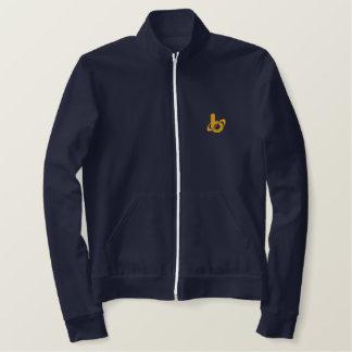 Barrel X Track Jacket-Embroidered Jackets