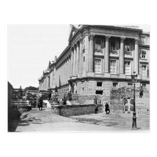 Barricade during the Commune of Paris Postcard