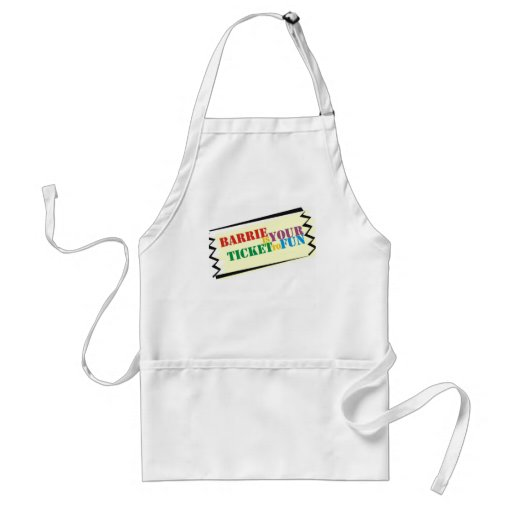 Barrie is Your Ticket to Fun Aprons