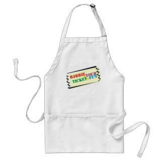 Barrie is Your Ticket to Fun Standard Apron