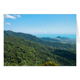 Barron Gorge Canopy and Coral Sea Card