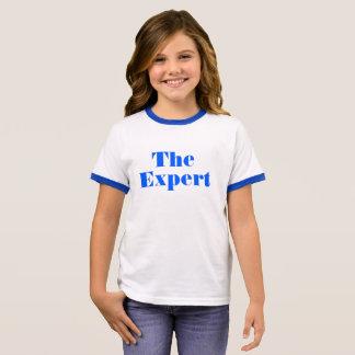 """Barron Trump """"The Expert"""" shirt for little girls"""