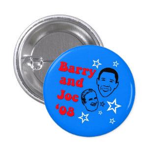 Barry and Joe '08 Pins