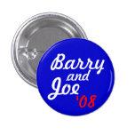 Barry and Joe '08 - Customised 3 Cm Round Badge
