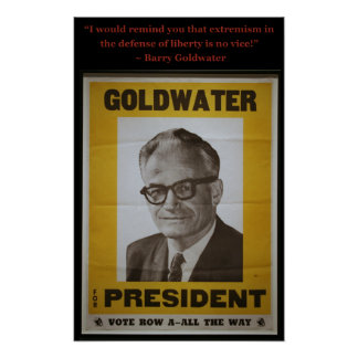 Barry Goldwater Poster