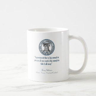 Barry Goldwater Quote (Big Government) Mugs
