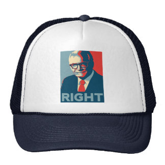 Barry Goldwater Right Trucker Hats