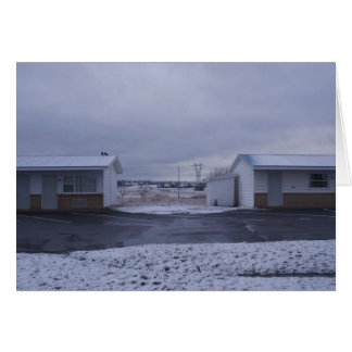 Barry Motel Greeting Card