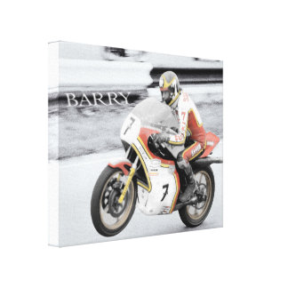 Barry Sheene Canvas Print