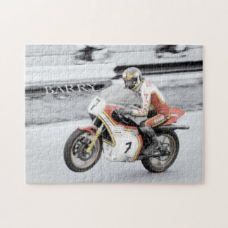 Barry Sheene Jigsaw Puzzle