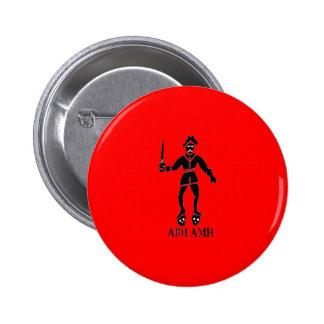 Bart Roberts 1-Black Pinback Buttons