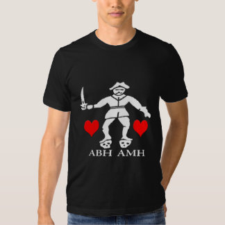 Bart Roberts #1 -Hearts Tee Shirt