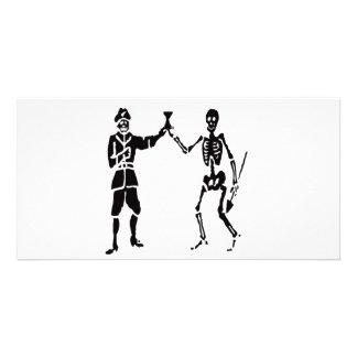 Bart Roberts-Black Photo Greeting Card