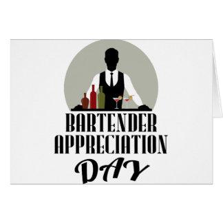 Bartender Appreciation Day Card