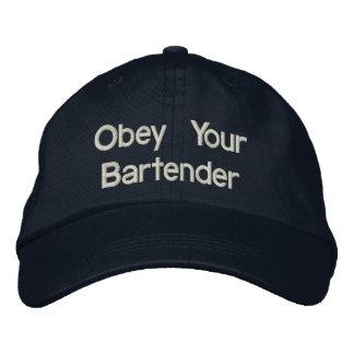 Bartender Hats - Obey Your Bartender