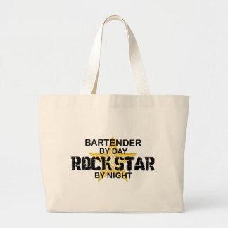 Bartender Rock Star Jumbo Tote Bag