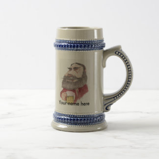 BARTENDER, Your name here Beer Stein