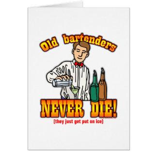 Bartenders Card