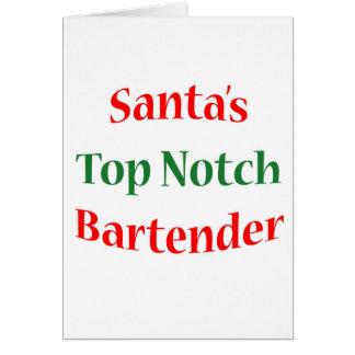 BartenderTop Notch Card