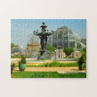 Bartholdi Fountain Washington DC. Jigsaw Puzzle
