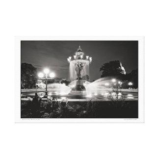Bartholdi Park- Washington, DC Canvas Print