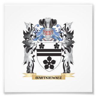 Bartkiewicz Coat of Arms - Family Crest Photographic Print