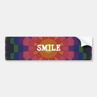 bartlett balloon artwork, SMILE Car Bumper Sticker