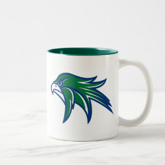 Bartlett Hawks Two-Tone Coffee Mug